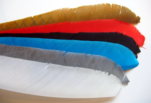 FULL LENGTH FEATHER FLETCHINGS